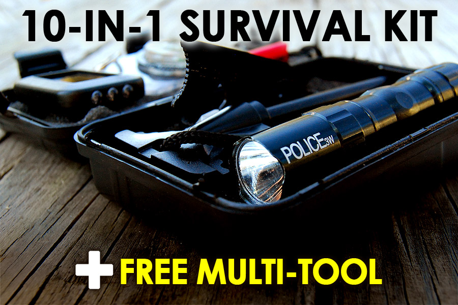 10-in-1 Survival Kit