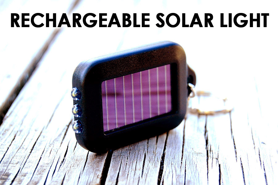 Mini Solar Flashlight
